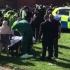 Şase persoane rănite la Newcastle, după ce o maşină a intrat în mulţime