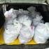 Peste 300 kg peşte, confiscate de poliţiştii de frontieră Midia