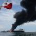 Un petrolier a luat foc în Golful Mexic