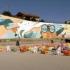 Cea mai mare pictură de artă murală din lume care purifică aerul a fost inaugurată la Constanța