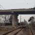 CFR Călători: Patru trenuri oprite din cauza unui pod căzut pe șine