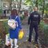 Polițiștii locali constănțeni sprijină activitatea de vaccinare