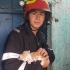 Au stins incendiul și-au salvat și pisicile, și porumbeii!