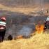 Zeci de hectare de cereale au ars într-o comună suceveană