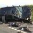 Microbuz cu 30 de pelerini care se întorceau de la Prislop, implicat într-un accident rutier