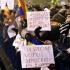 O nouă zi de proteste la Palatul Cotroceni