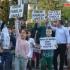 Copii români, răpiţi de sistem! Proteste la Ambasada Finlandei, în numele Cameliei Smicală