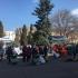 Angajații ARSVOM protestează în fața Prefecturii pentru salarii mai mari