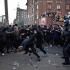 Protestatarii din Hamburg de la G20 au atacat hotelul în care este cazat Putin