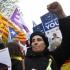 Susținători ai independenței Cataloniei au protestat la Bruxelles
