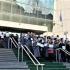 Mii de grefieri au protestat pentru a nu pierde pensiile speciale. Judecătorii îi susţin