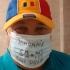 Protest vulgar împotriva purtării măştii