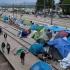 A început evacuarea taberei de migranți din Idomeni, Grecia