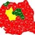 Harta României s-a colorat în roșu! Victorie zdrobitoare a PSD!