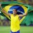 Rivaldinho a înscris sub privirile lui Rivaldo
