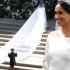 Cât a costat rochia purtată de Meghan Markle la nunta regală