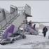 Români blocați pe un aeroport din Londra, din cauza vremii nefavorabile