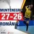 Handbalistele tricolore au pierdut cu Muntenegru