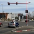 Modificări urbanistice în intersecția de la City: Primăria a montat console cu LED la semafoare