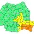 Se păstrează codul portocaliu de ploi în Constanța