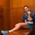 Învingătoarea de la Roland Garros a adus trofeul în țară