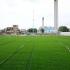 Se montează noul gazon sintetic pe terenul Complexului Sportiv din strada Primăverii