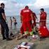 Turist resuscitat pe plajă! A intervenit elicopterul SMURD