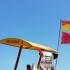Steag Roșu pe litoral. Scăldatul interzis!