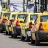 Proteste ale taximetriștilor în toată țara. La Constanța, primarul a făcut o înțelegere cu manifestanții