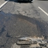 Trei autotrenuri - implicate într-un accident pe A4 Ovidiu - Agigea