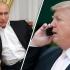 Donald Trump și Vladimir Putin au avut prima convorbire telefonică