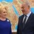 Viorica Dăncilă s-a întâlnit, în Israel, cu Benjamin Netanyahu