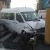 Microbuz de la Garda de Coastă implicat într-un accident! Două persoane rănite!