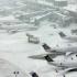 Sute de zboruri anulate în SUA. Furtună puternică de zăpadă