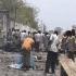 Nouă morţi, inclusiv doi atacatori, în urma atentatului din capitala Somaliei